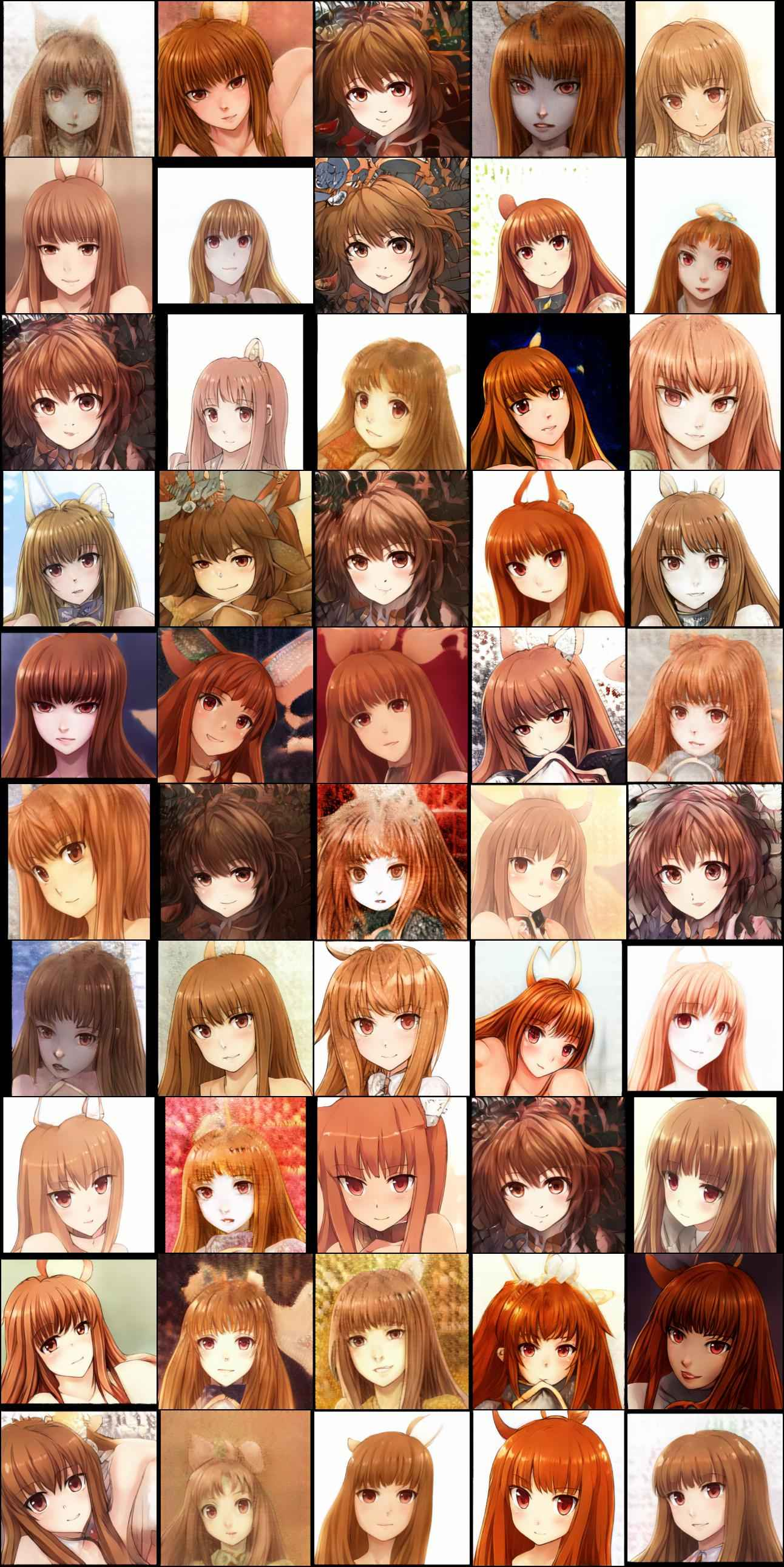 Holo (Spice and Wolf), class #273 random samples