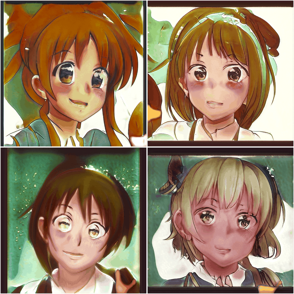 Making Anime Faces With Stylegan Gwern Net Images, Photos, Reviews