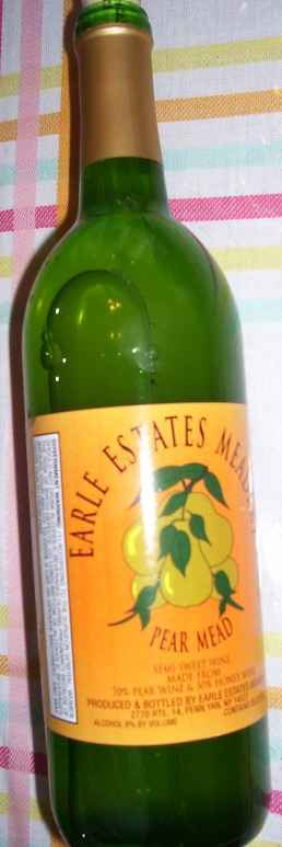 Earle Estates, pear mead